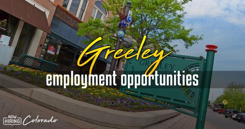 Jobs in Greeley, Colorado