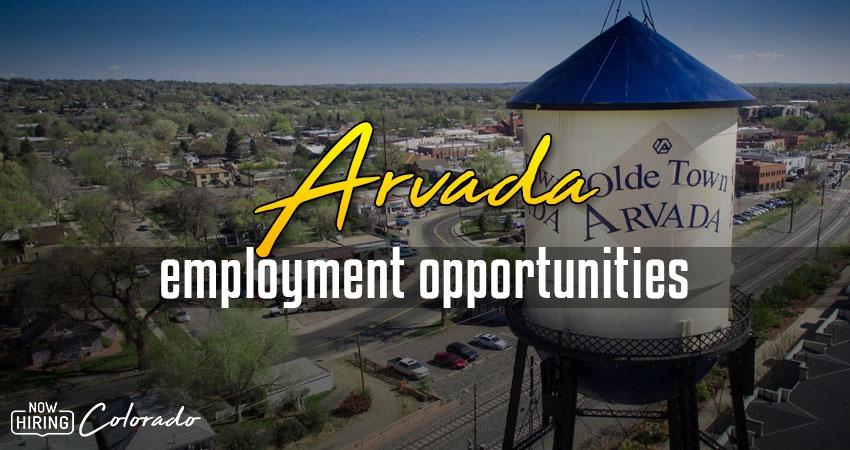 Jobs in Arvada, Colorado