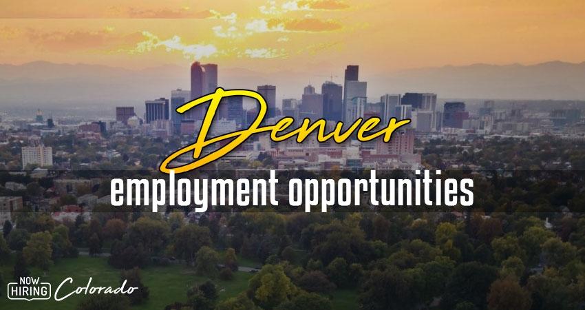 Jobs in Denver, Colorado
