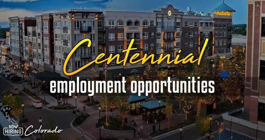Jobs in Centennial, Colorado