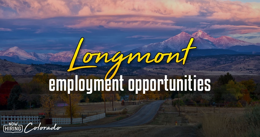 Jobs in Longmont, Colorado