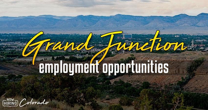 Jobs in Grand Junction, Colorado