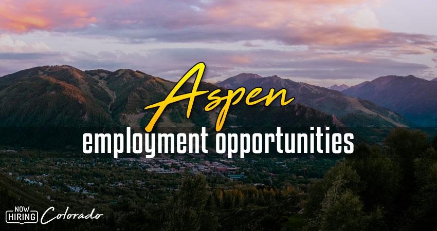 Jobs in Aspen, Colorado