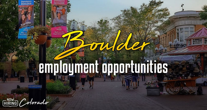 Jobs in Boulder, Colorado