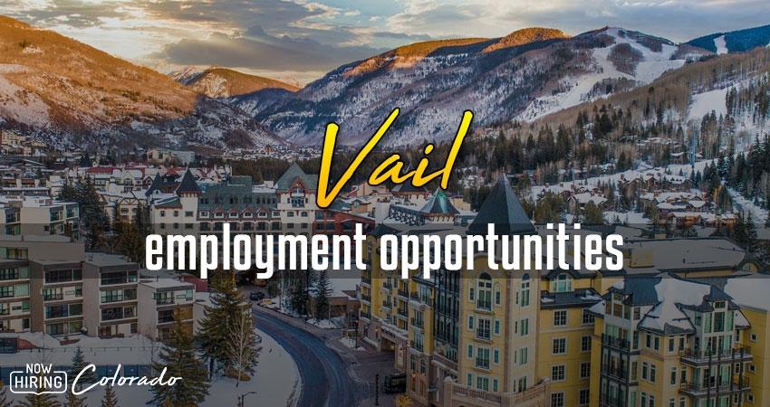 Jobs in Vail, Colorado