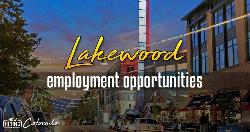Jobs in Lakewood, Colorado